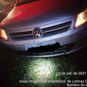 Motorista dorme ao volante e sofre acidente na BR-470, em Lontras