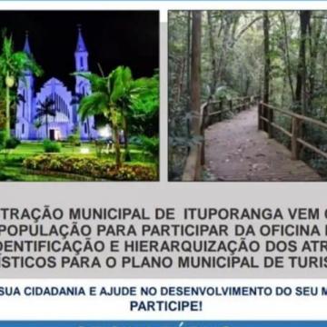 Ituporanga realiza oficina pública para elaboração do Plano Municipal do turismo