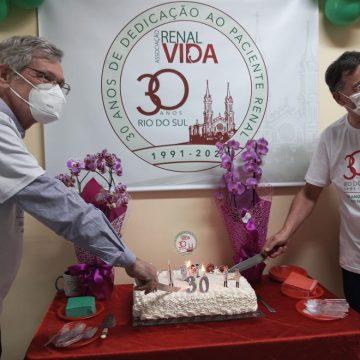 Renal Vida de Rio do Sul comemora 30 anos de fundação