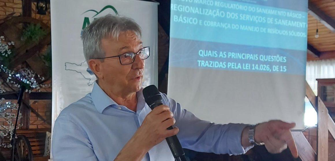 Agência Reguladora de Saneamento alerta que implantação do esgotamento sanitário precisa ser priorizado por municípios