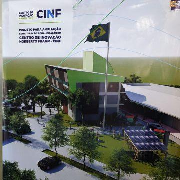 Projeto final para ampliação, estruturação e qualificação do CINF é apresentado