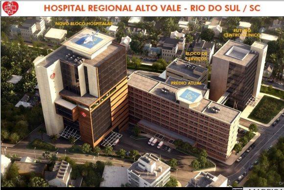Projeto da nova torre do Hospital Regional será apresentado ao Ministério da Saúde, em Brasília