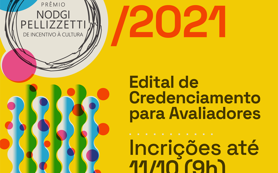 Prêmio Nodgi Pellizzetti de Incentivo à Cultura está com inscrições abertas