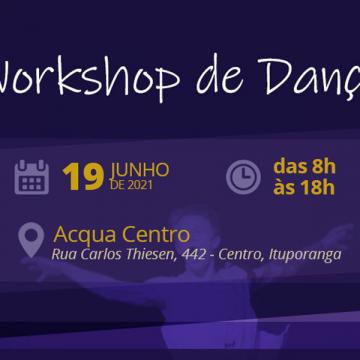 Presidente Getúlio recebe o segundo workshop de dança