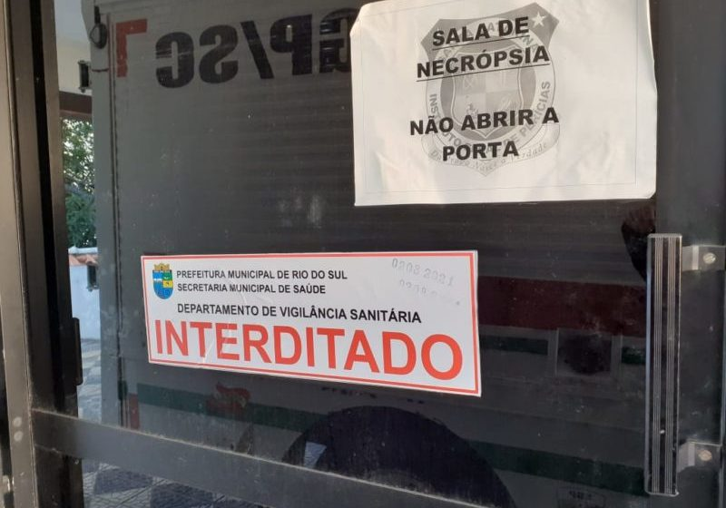 Cúpula da Segurança Pública vai discutir em Rio do Sul situação da sala do IML