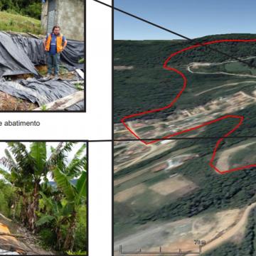 Mapeamento das áreas de risco indica pontos que não podem voltar a ser ocupados  em Presidente Getúlio, Ibirama e RSL
