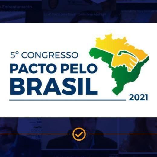 Congresso Pacto pelo Brasil 2021 discute a Gestão Inteligente de Cidades