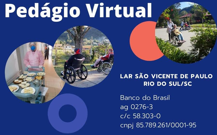 Com expectativa de arrecadar R$ 45 mil, Conferência São Vicente de Paulo realiza pedágio virtual