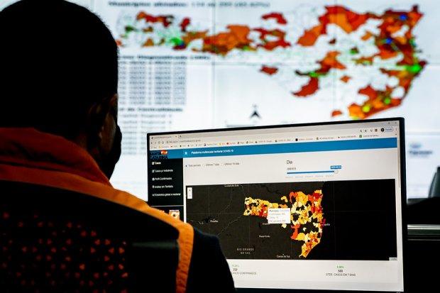 SC inaugura Sala de Situação para monitoramento epidemiológico e sanitário no Estado