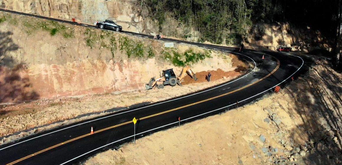 Serra do Tucano será fechada para conclusão de pintura