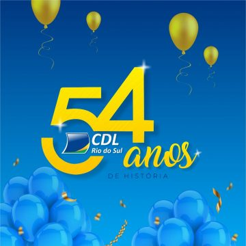 CDL de Rio do Sul comemora 54 anos de fundação