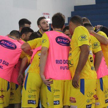 Rio do Sul Futsal é eliminado da Copa Catarinense