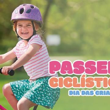 Dia das crianças terá passeio ciclístico, em Rio do Sul