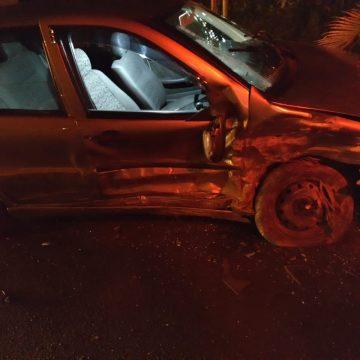 Mulher fica ferida após colisão na SC-110 em Ituporanga