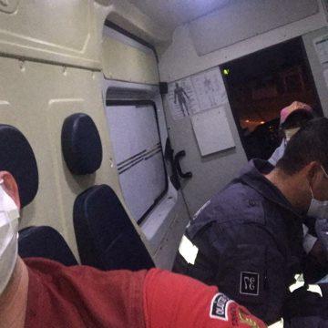 Bebê nasce em ambulância dos bombeiros de Presidente Getúlio durante parto emergencial