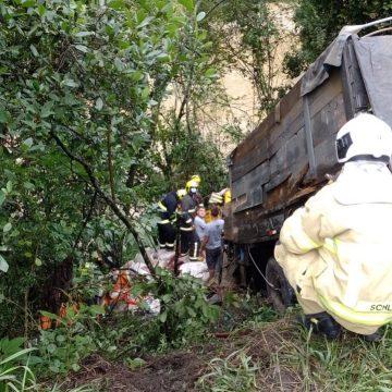 Homem de 66 anos morre em colisão na BR-470, em Ibirama
