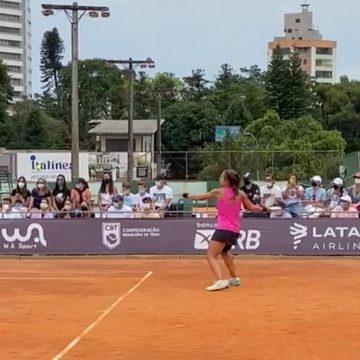 Semifinais da Federação Internacional de Tênis acontecem neste sábado, em Rio do Sul