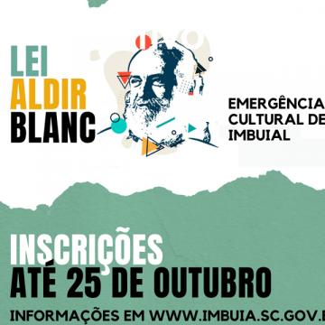 Imbuia vai destinar quase R$60 mil para projetos na área da cultura pela Lei Aldir Blanc