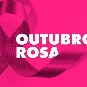 Material informativo sobre prevenção contra o câncer de mama é distribuído, em Rio do Sul