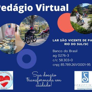 Conferência São Vicente de Paulo estende pedágio online até 31 de outubro