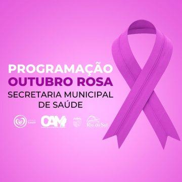 Programação do Outubro Rosa no Centro de Atendimento à Mulher começa hoje na capital do Alto Vale